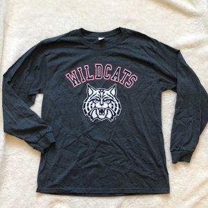 UofA Wildcat long sleeve tee
